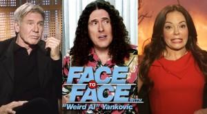 Weird Al Interviews Harrison Ford & Rose McGowan