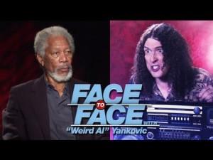 Weird Al Interviews Michael Cera & Morgan Freeman