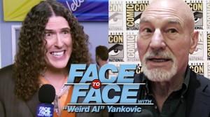 Weird Al Interviews Patrick Stewart