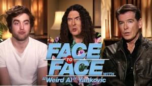 Weird Al Interviews Robert Pattinson & Pierce Brosnan