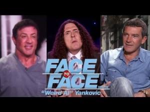 Weird Al Interviews Sylvester Stallone & Antonio Banderas
