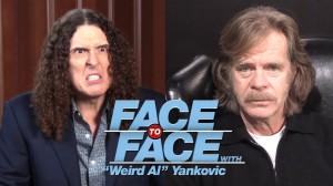Weird Al Interviews William H. Macy